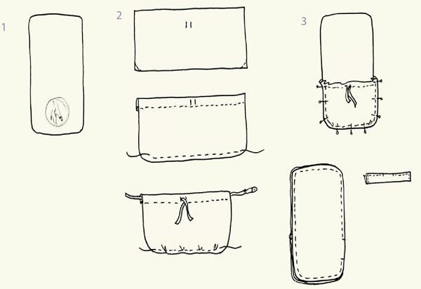 как сшить сумку для обуви