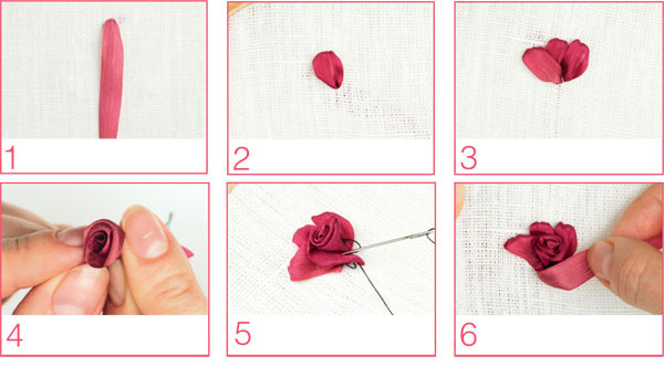 комбинированная роза мк лентами