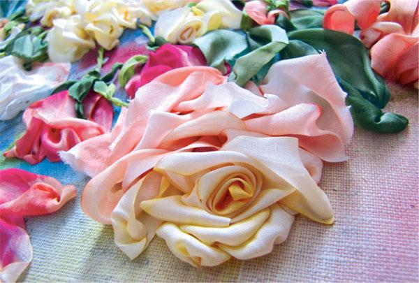 комбинированная роза