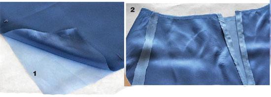 как сшить юбку с буфами