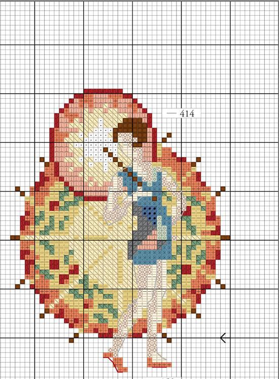 вышивка крестом схема