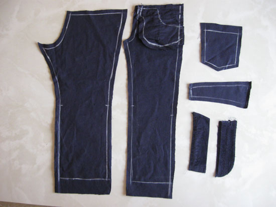 выкройка брюк