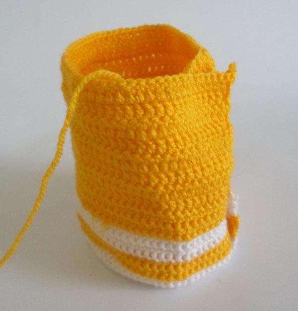вязание сумочки пенала