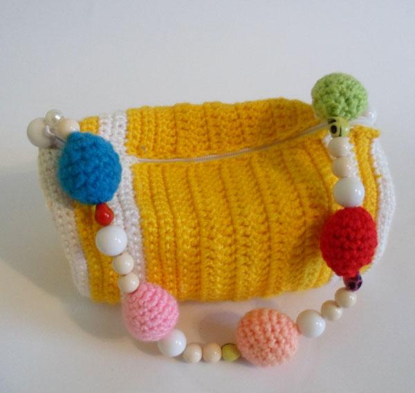 сумочка вязаная