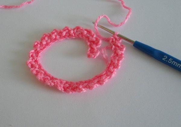 вязание георгины крючком