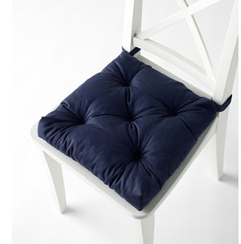 Как сшить подушку на стул