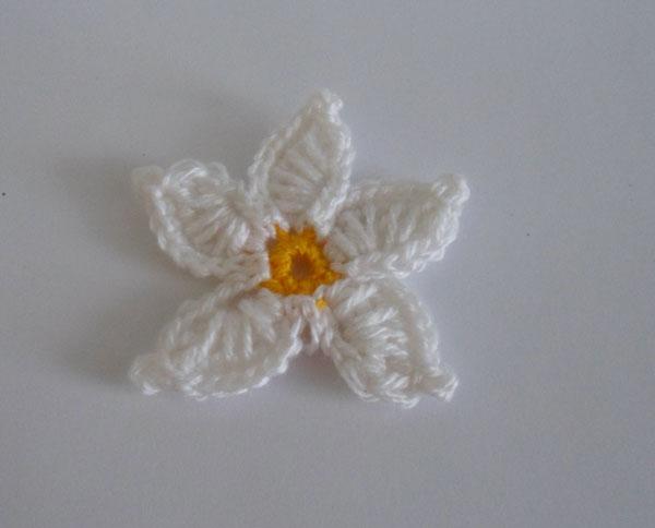 ромашка цветок крючком