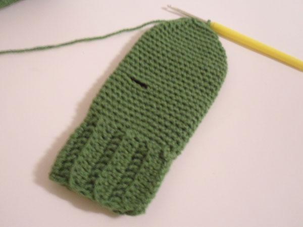 Шитье и вязание рукавичек мастер класс фото #12