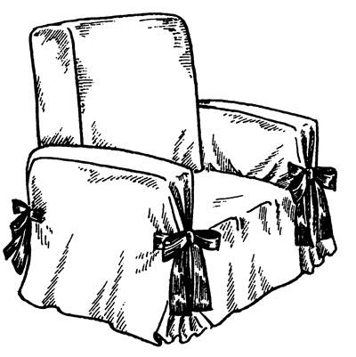 как сшить чехол на кресло