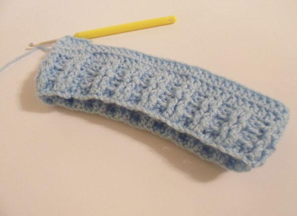 вязание резинки шапки