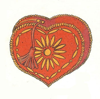 Как сшить косметичку «Сердце»