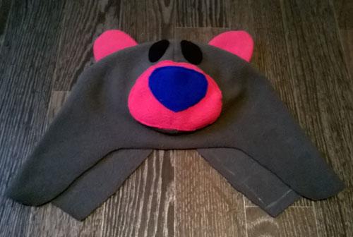 детская шапка из флиса