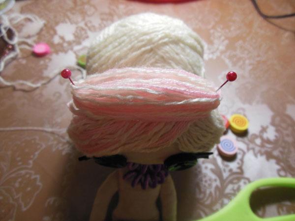 волосы для лалалупси из ниток