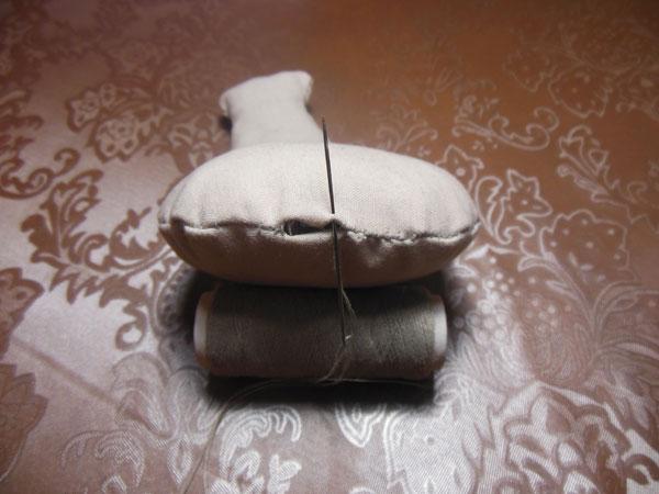 голова кукле из ткани