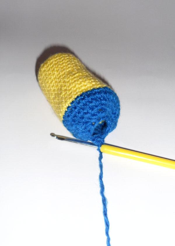 вязание миньона крючком