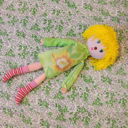 Как сшить куклу из старой одежды