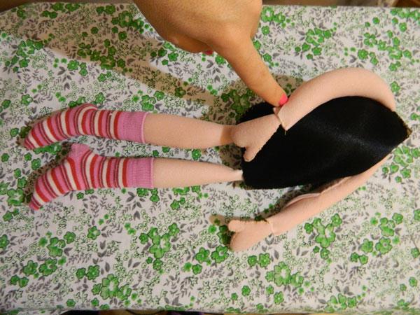 тело куклы