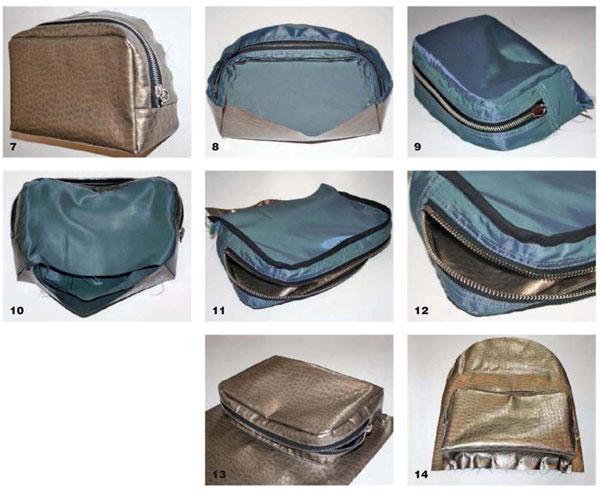 как сшить рюкзак из кожи