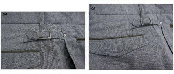 отвороты брюк