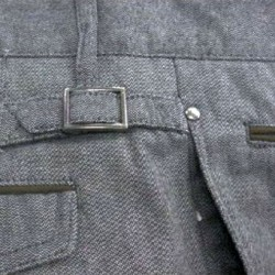 отвороты обтачки мужских брюк