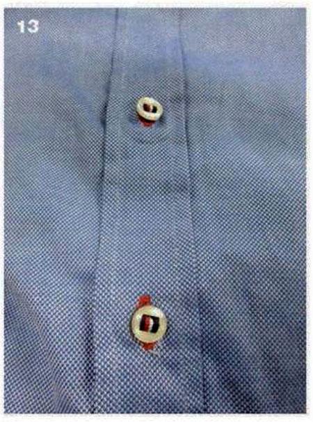 пуговицы на мужской сорочке