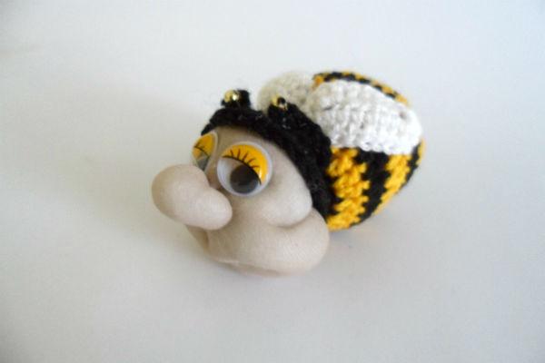 пчела крючком своими руками
