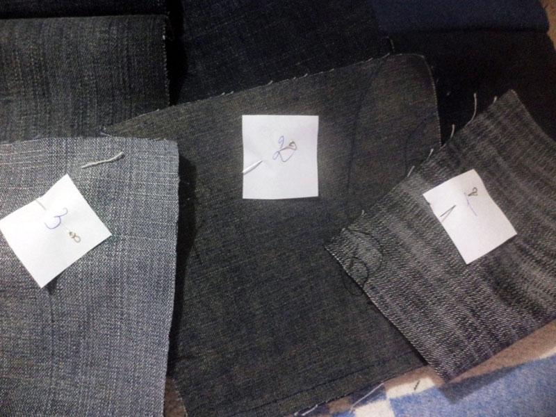 джинсовое покрывало как сшить