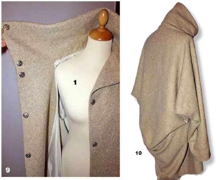 Как сшить пальто oversize, выкройка пальто