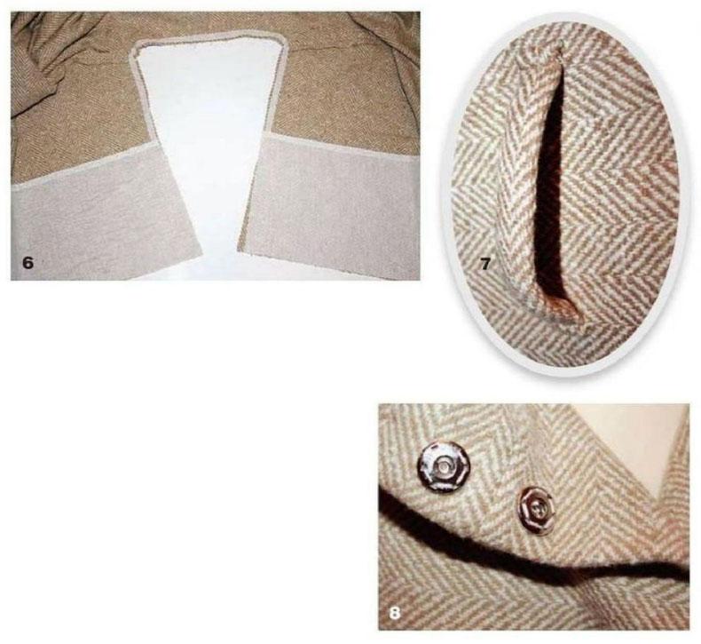 sewing tutorial coat oversize