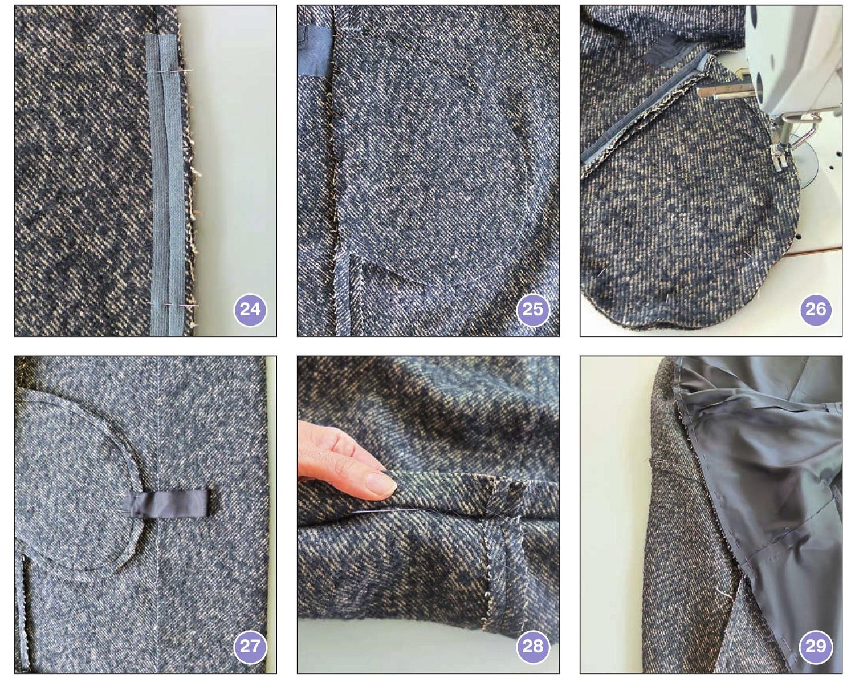 техника кроя пальто кокон