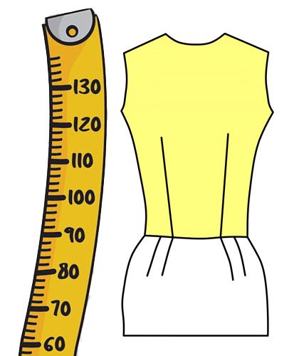 измерения манекена и фигуры