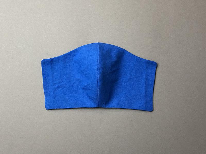 многоразовая самодельная защитная  маска