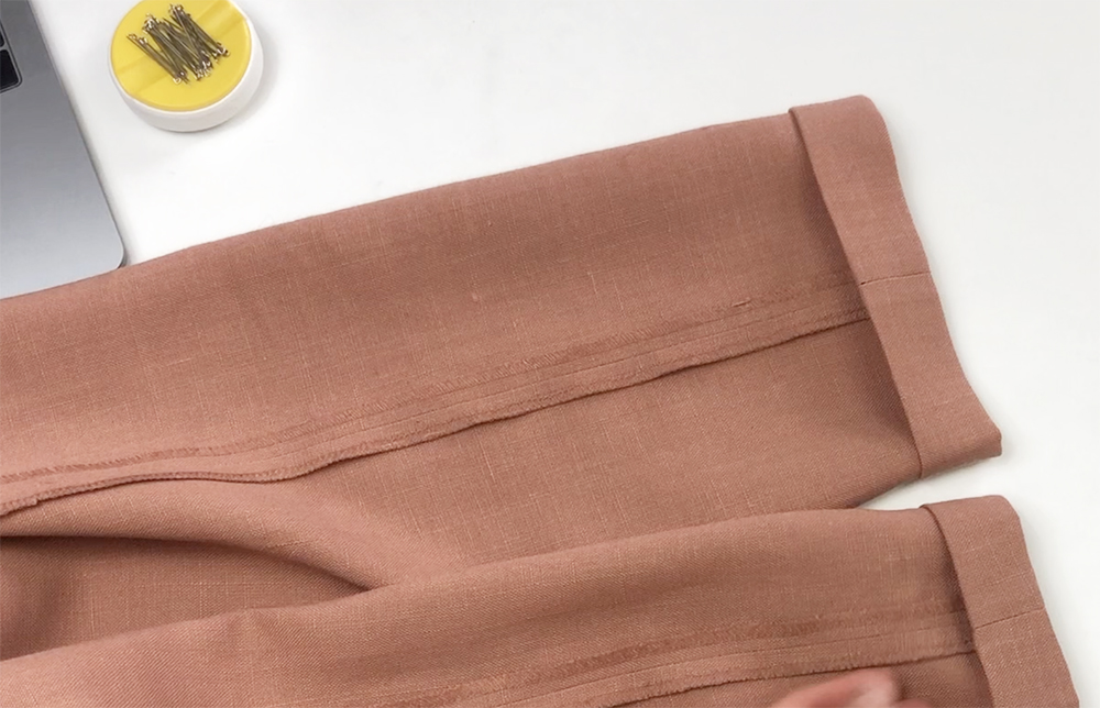 как сделать джогеры из брюк
